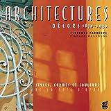 echange, troc Florence Fabrègue, Richard Wacongne - Architectures - Décors 1860-1930 : Styles, formes et couleurs de la Côte d'Azur