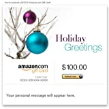 Amazon Gift Card - Email - Christmas (Tree Ornaments)