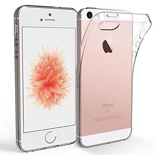 Apple-iPhone-SE-5S-5-Custodia-EasyAcc-Apple-iPhone-SE-Soft-TPU-Case-Crystal-Clear-Transparent-Slim-Anti-Slip-Case-Protector-Cover-Shockproof-for-Apple-iPhone-SE-5S-5