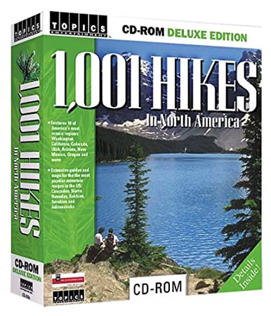 1,001 Hikes in North America
