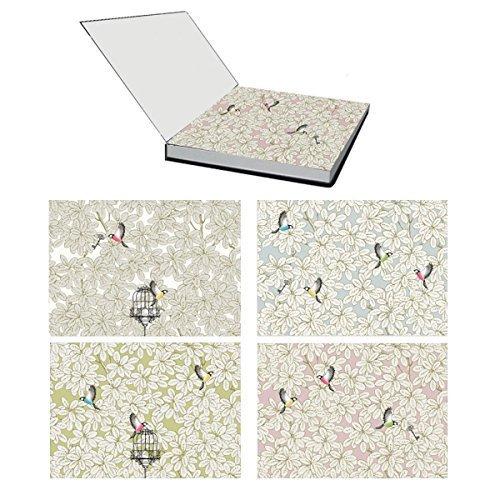ALEXANDRE TURPAULT Papier Tischset Platzset Carnet de croquis Liberté 48 Stück