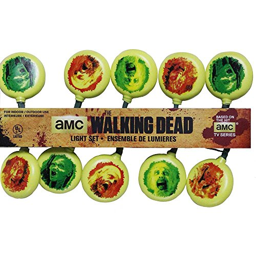 Kurt Adler 10-Light Walking Dead Light Set