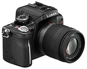 Panasonic Lumix DMC-GH2KK 16.05 MP Live MOS Interchangeable Lens Camera with 3-inch Free-Angle Touch Screen LCD and 14-42mm Lens (Black)
