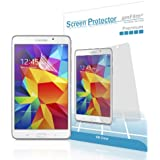 Galaxy Tab 4 8.0 Screen Protector, amFilm Screen Protector for Samsung Galaxy Tab 4 8.0 inch Premium HD Clear (2-Pack) [Lifetime Warranty]