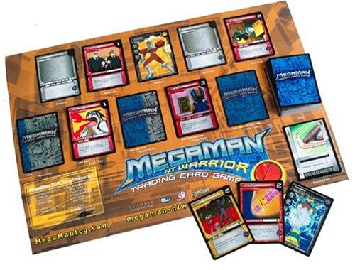 Mega Man NT Warrior Trading Card Game Grand Prix Starter Deck Pharaohman Villain