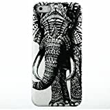 Elephant Pattern Hard Case for iPhone 4/4s