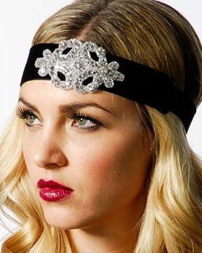 Snowflake Noir Headband