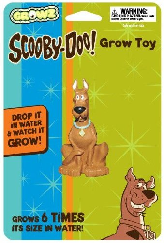 Scooby Doo Sitting Grow Figure - 1