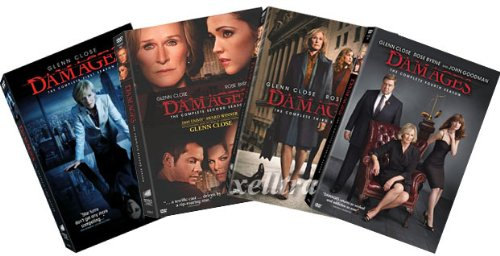 Damages DVD Set - The Complete Season One , Two, Three and Four - Season 1, 2, 3, 4 (Damages Season 4 compare prices)