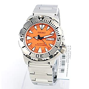 Seiko Superior #SRP309J1- Men's Stainless Steel 2nd Generation Monster 200M 24 Jewels Automatic Diver Watch (Made In Japan)