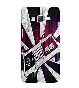 Fuson 3D Printed Designer back case cover for Samsung Galaxy Grand Prime G530H - D4506