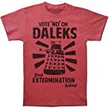 DR. WHO -- VOTE NO ON DALEKS -- MENS TEE