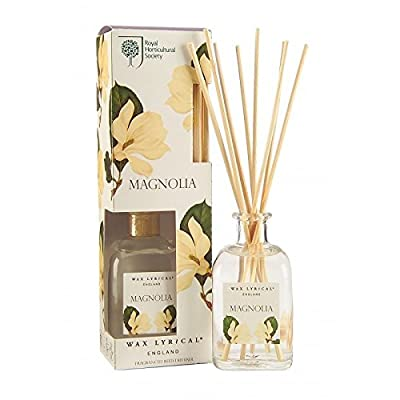 RHS Magnolia Reed Diffuser, Multi-Colour by Wax Lyrical