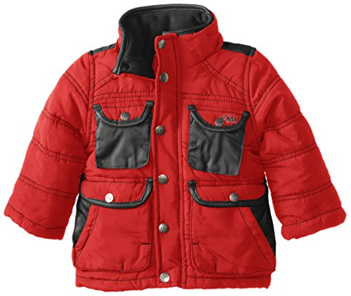Shop for and buy infant leather jacket online at Macy's. Find infant leather jacket at Macy's. Macy's Presents: The Edit- A curated mix of fashion and inspiration Check It Out. Free Shipping with $99 purchase + Free Store Pickup. Contiguous US. Carter's Baby Girls Hooded Jacket with Fleece Lining.