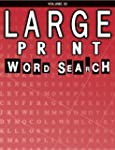 Large Print Word Search Puzzle Book,...