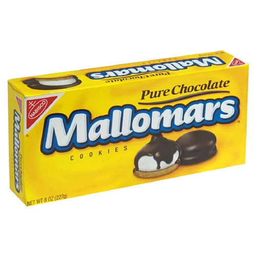 Mallomars Pure Chocolate Cookies, 8-Ounce Boxes (Pack of 4)