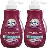 Veet Hair Removal Gel Cream, Sensitive Skin Formula 13.5 oz (Pack Of 2)