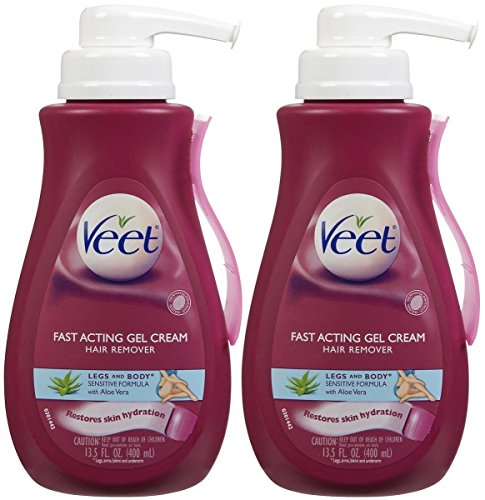 Veet Hair Removal Gel Cream, Sensitive Skin Formula 13.5 oz