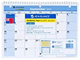 AT-A-GLANCE 2014-2015 Academic Year QuickNotes Monthly Desk and Wall Calendar, 11 x 8 Inch Page Size, (PM51-28)