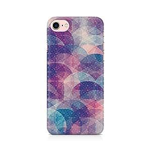 PRINTASTIC Geometric Circles Premium Printed Mobile Back Case Cover For Apple iPhone 7