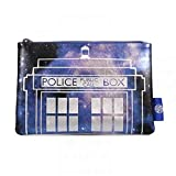 Doctor Who Galaxy Cosmetic Bag (Color: multicolour, Tamaño: 9.25 (w) x 6.25(h) x 0.5 (d) inches)