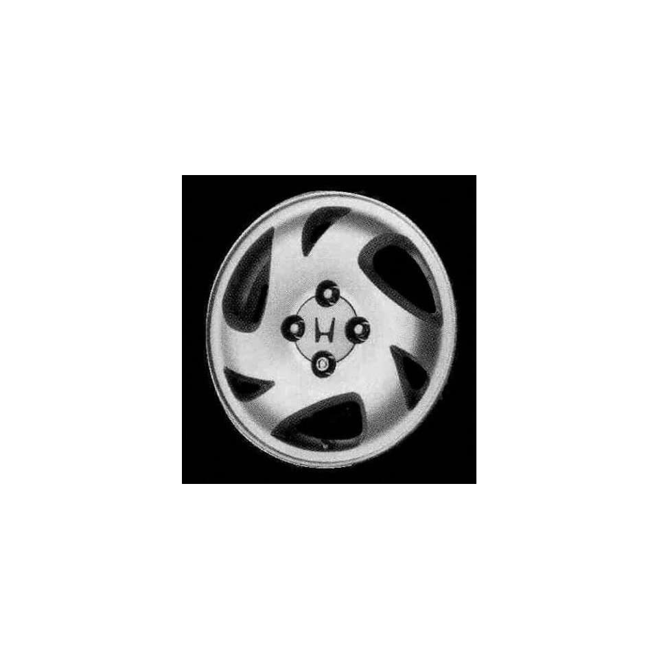 96 00 HONDA CIVIC ALLOY WHEEL RIM 14 INCH, Diameter 14, Width 5.5 (6 SPOKE, 4 LUG, DEALER OPTION), MACHINED FACE, 1 Piece Only, Remanufactured (1996 96 1997 97 1998 98 1999 99 2000 00) ALY63791U10