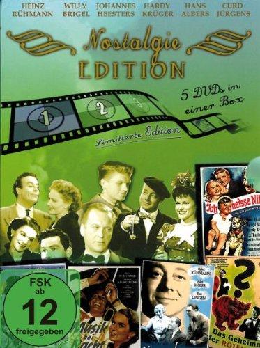 Nostalgie Edition 1 - 5 DVD - Ich heiße Niki - Das Geheimnis der roten Katze - Himmel auf Erden - Professor Nachtfalter - Musik bei Nacht [Limited Edition]