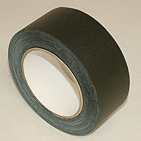 JVCC GAFF30YD Premium Grade 30 Yard Gaffers Tape: 2 in. x 30 yds. (Black)