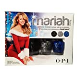 OPI MINI Nail Lacquer Set of 3 -Mariah Carey Liquid Sand Brand NEW Holiday 2013