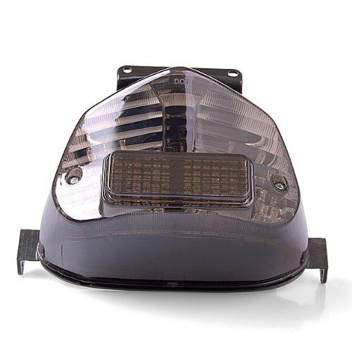 New Smoke Led Tail Light Turn Integrated W/Turn Signal For Suzuki Gsxr 1000 2001 2002 01 02