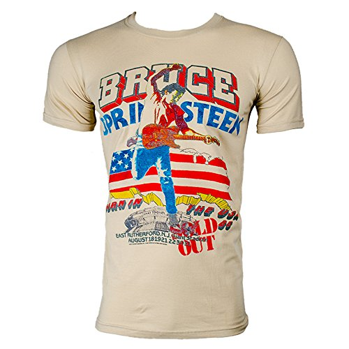 T Shirt Bruce Springsteen Tour (Bianco) - Small