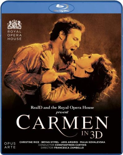 Carmen In 3d (Rice,Hymen,Kimberg -Caryd) BIZAET - Blu Ray