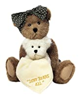 "Boyds Bears Momma Bearsley & Baby Jack #903203 10"" by Boyds Bears"