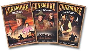Gunsmoke Movie Collection (Return to Dodge/The Last Apache/To the Last Man) from Paramount