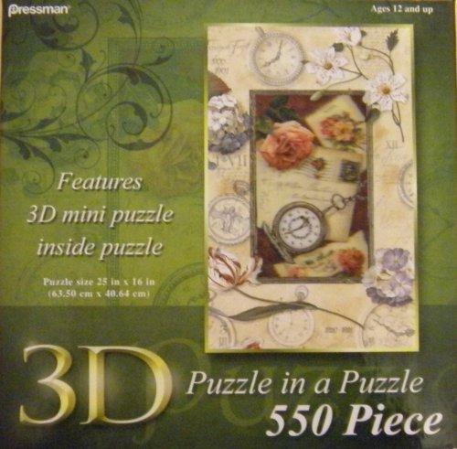 3D PUZZLE 550 PC