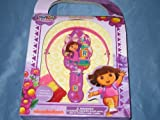 Dora The Explorer Girls Hair Care Set Brush Clips Ponytail Holder