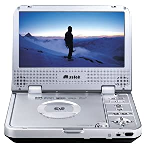 Mustek Mp80b 8-inch Portable Dvd Player