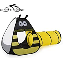 Alcoa Prime Bee Tent Game House Baby Child Crawling Play Ball Pit Pool Teepee Tent For Kids Pop Up Folding Toy...