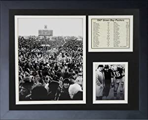 Legends Never Die 1967 Green Bay Packers Ice Bowl Celebration Framed Photo Collage,... by Legends Never Die