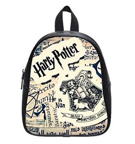 LilyFavor Harry Potter Zaino Custom Kids Zaino School Borsa Black(Small)