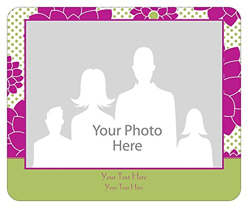 Vistaprint Green Baby Announcement Mouse Pads front-1051582
