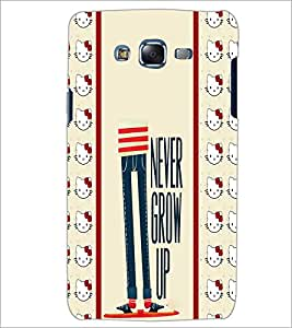 PrintDhaba Quote D-2785 Back Case Cover for SAMSUNG GALAXY J5 (Multi-Coloured)