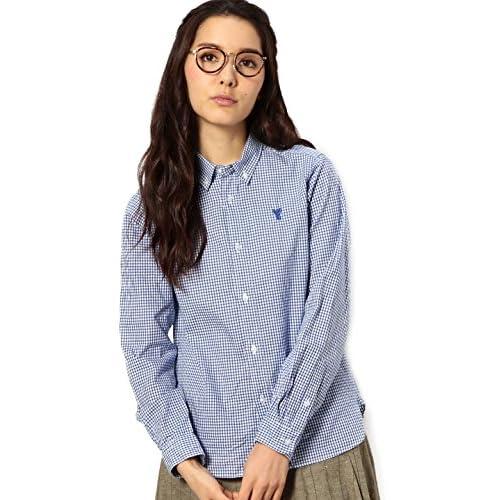 (コーエン) COEN ギンガムチェックシャツ 76106065005 75 Cobalt M