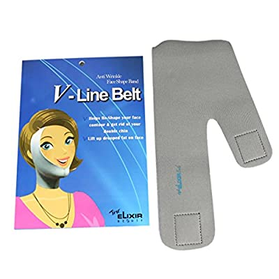 Cheapest V-Line Face Lifting Slimmer Chin Lift Band Anti-Aging Mask The Elixir Beauty from The Elixir - Free Shipping Available