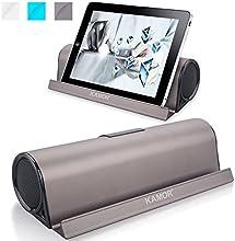 Kamor® Tragbare Bluetooth Lautsprecher Reisegröße mit Cradle, Powered Subwoofer, Unglaubliche 10 Stunden Wiedergabedauer, Aufladbarer Bluetooth Lautsprecher für iPhone 6 / 6 Plus / 5S / 5 / 4S, iPad Mini 3 / mini 2 / mini, iPad Air 2 / Air, iPad 2 3 4, iPod, itouch, Samsung Galaxy S5 / S4 / S3 / Note 4 / Note 3, LG Nexus 5 / G3 / G2 / Exalt, Sony Xperia Z2, HTC One M8, Nokia Lumia 520, Smartphones, Tablets PC, Laptops, Ultrabook and Mp3 Player - Braun
