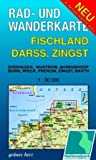 Rad- und Wanderkarte Fischland, Darß, Zingst: Mit Dierhagen, Wustrow, Ahrenshoop, Born, Wieck, Prerow, Zingst, Barth. Maßstab 1:30.000.