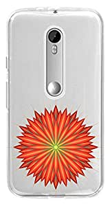 WOW Transparent Printed Back Cover Case For Motorola Moto G (3rd gen)