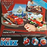 Disney Pixar Cars 2 Klip Kitz Mini Kitz Lightening McQueen & Francesco Berboulli