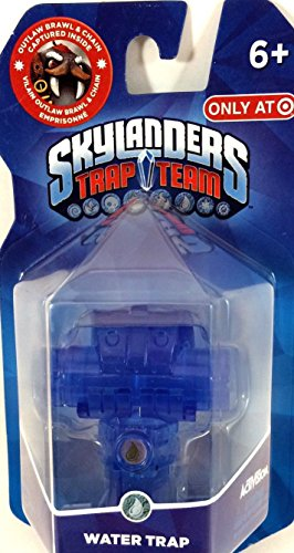 Skylanders TRAP TEAM Exclusive Water Trap [Outlaw Brawl & Chain Captured Inside] - 1