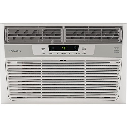 Frigidaire FFRE0833S1 8,000 BTU 115V Window-Mounted Mini-Compact Air Conditioner with Temperature-Sensing Remote Control (8000 Btu Air Conditioner compare prices)